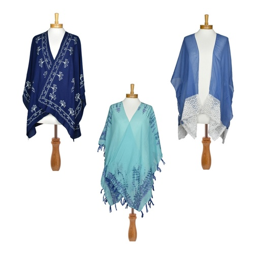 THSAP1035:(3 pcs) Assorted Pack : Kaftan Blue