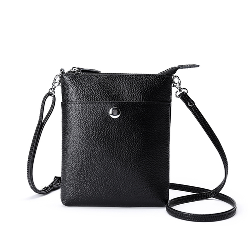 THSB1000: Black: Amanda Cross Bag