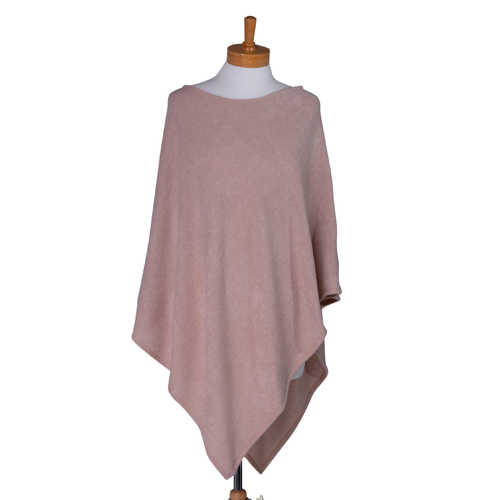 THSP1021: Brown: Pearl Poncho