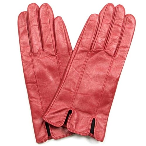 VG1905R: Red: Maeve Italian Leather Gloves